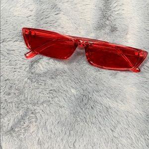 'Scuse Me Sunglasses (Red)